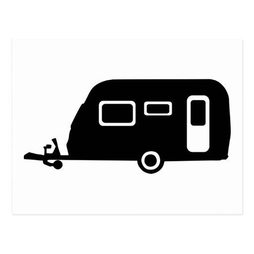 Caravan Postcard
