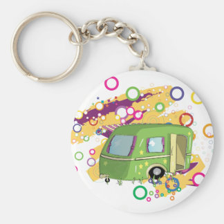 Caravaning Key Ring