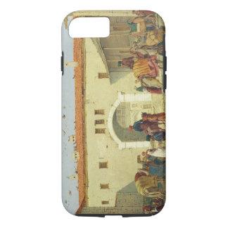 Caravanserai at Mylasa, Turkey, 1845 (oil on panel iPhone 7 Case