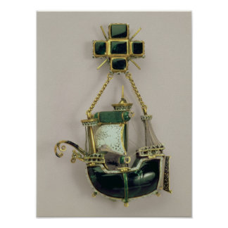 Caravel pendant, 1580s-90s poster