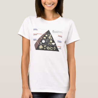 Carb Lover's Food Pyramid T-Shirt