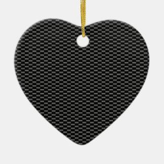CARBON CERAMIC HEART DECORATION