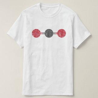 Carbon Dioxide Molecular Structure T-Shirt