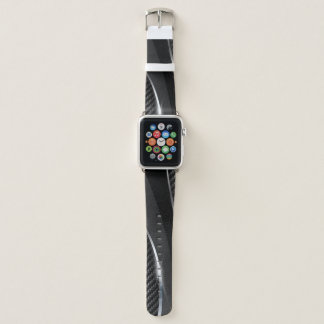 Carbon Fiber 3 Apple Watch Band