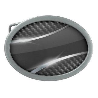 Carbon Fiber 3 Belt Buckle