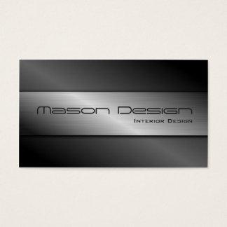 Carbon Fiber and Brushed Steel Business Card