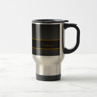 Carbon Fiber Brass SS Travel Mug