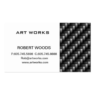 carbon fiber business card templates