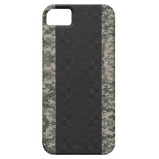 Carbon Fiber & Digital Camouflage iPhone 5 Case