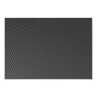 Carbon Fiber Material 9 Cm X 13 Cm Invitation Card