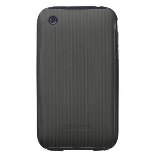 Carbon fiber Pattern iPhone 3 Tough Cover
