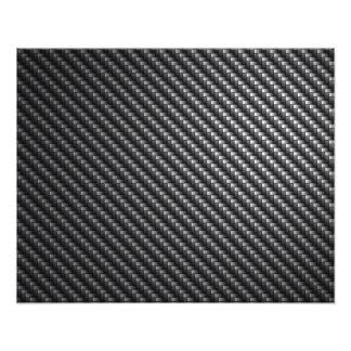 Carbon Fiber Pattern Photo Print