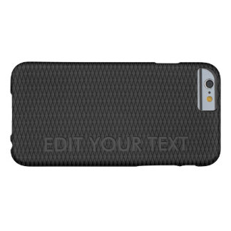 CARBON FIBER UNIQUE RELIEF TEXT POPULAR BESTSELLER BARELY THERE iPhone 6 CASE