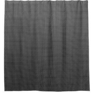 Carbon Fibre Shower Curtain
