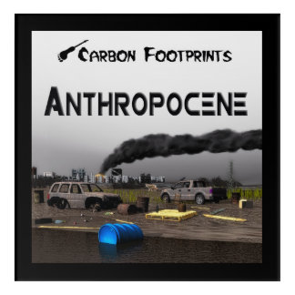 Carbon Footprints - Anthropocene Acrylic Print