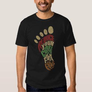 Carbon Footprints Tee Shirt