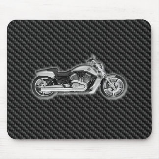 Carbon Harley Motorcycle 3D Fashion Accessory Mouse Pads