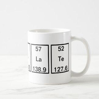 Carbon Holmium Cobalt Lanthanum Tellurium Coffee Mug