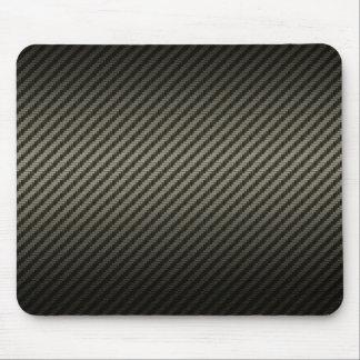 carbon pattern mouse pad