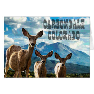 Carbondale, Colorado Note Card
