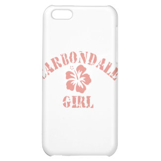 Carbondale Pink Girl Case For iPhone 5C