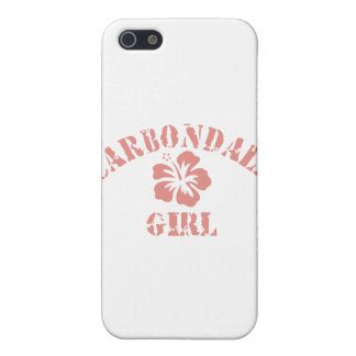 Carbondale Pink Girl iPhone 5/5S Cover