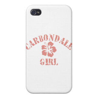 Carbondale Pink Girl iPhone 4 Covers