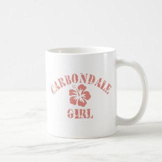 Carbondale Pink Girl Mugs