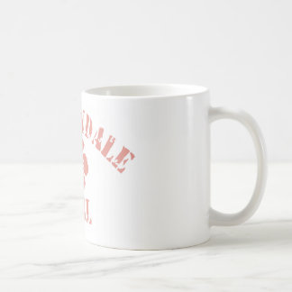 Carbondale Pink Girl Classic White Coffee Mug