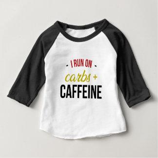 Carbs & Caffeine Baby T-Shirt