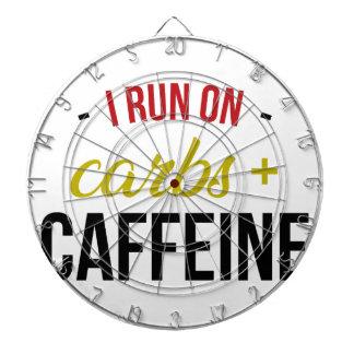 Carbs & Caffeine Dartboard