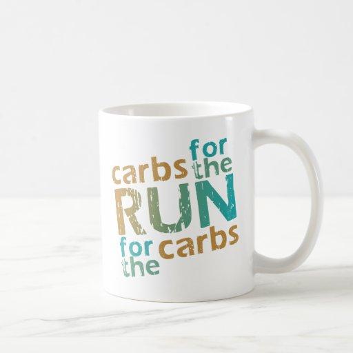 Carbs for the RUN * RUN for the Carbs Coffee Mug