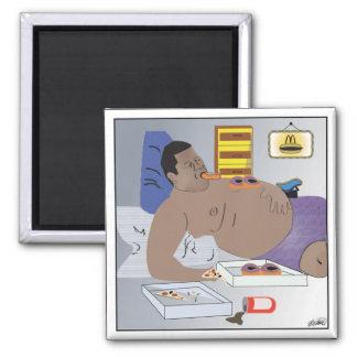 """Carbs make You Fat""-Refrigerator Magnet"