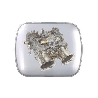 Carburetor Candy Tin