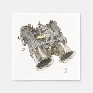 Carburetor Disposable Napkins
