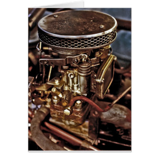 Carburettor Card