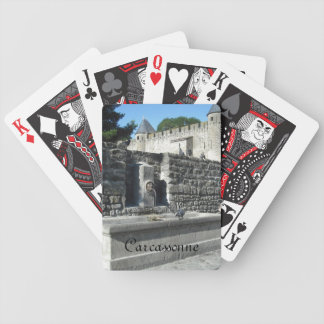 Carcassonne, France Poker Deck