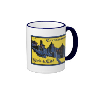 Carcassonne Hotel de la Cite Coffee Mugs