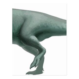 Carcharodontosaurus Postcard
