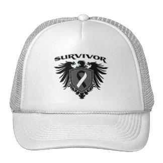 Carcinoid Cancer Survivor Crest Hats