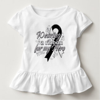 Carcinoid Cancer Wearing a Ribbon for My Hero T-shirts
