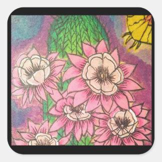 Card#18 Square Sticker