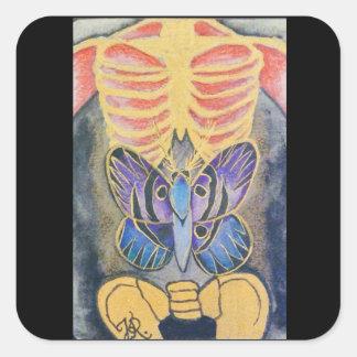 Card#2 Square Sticker