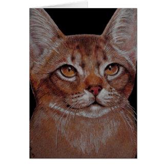 Card - Abby Cat