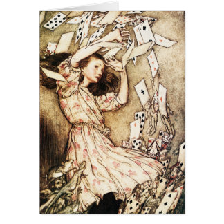 Card:  Alice & the Pack of Cards