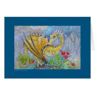 Card - Amber Dragon