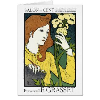Card: Art Nouveau: Grasset Salon des Cent Card
