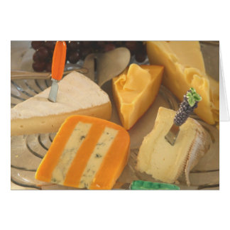 "Card, ""Assorted Cheeses # 2"" Card"