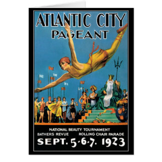 Card: Atlantic City Beauty Pageant Card