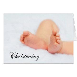 Card: Christening/Baptism invitation